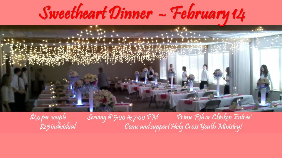 Sweetheart Dinner Website Slider 2016